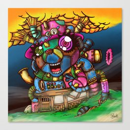 mad house Canvas Print