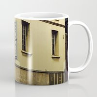 "60s Mugs featuring Vintage Cafe Bar ""Tout va Bien"" 60s  by Premium"