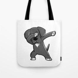 Funny Dabbing Great Dane Dog Dab Dance Tote Bag