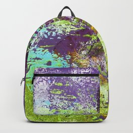 Heron Abstract Painting Backpack