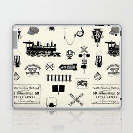 Railroad Symbols // Beige Laptop & iPad Skin
