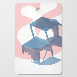 Abstract ampersand & Connection Cutting Board
