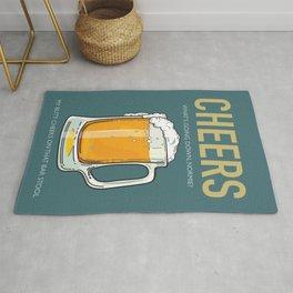 Cheers - TV Series Poster Rug