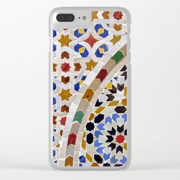 Mosaic Morocco Clear iPhone Case
