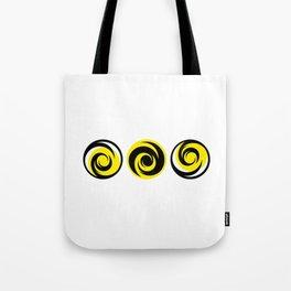 Hypnotic spiral Tote Bag