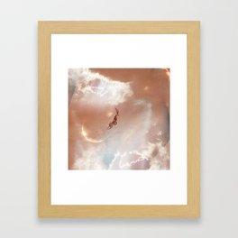 Sky Ram Framed Art Print