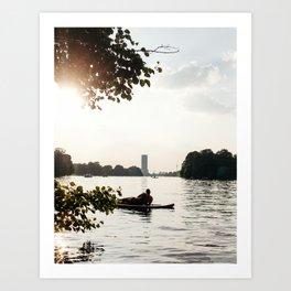 Treptower Views Art Print