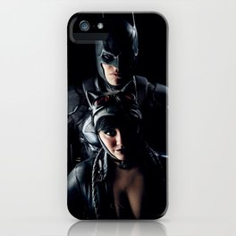The Bat and the Cat iPhone Case