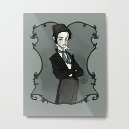 Little Vampyre Metal Print