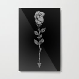 Deadly Love Metal Print