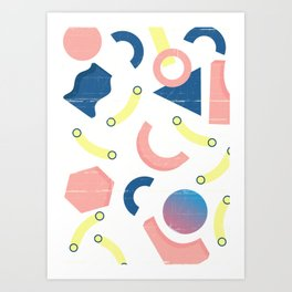 Hammerheads Art Print