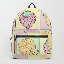 Fruit: Oranges, Strawberries, and Lemons Backpack