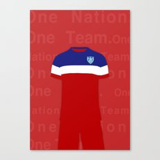 One Nation. One Team.  Canvas Print