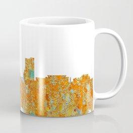 Fort Wayne, Indian Skyline - Rust Coffee Mug