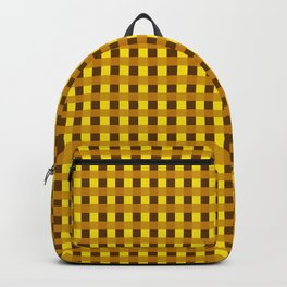 Retro Yellow Squares Backpack
