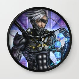 Raiden MGR:R Wall Clock