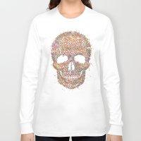 acid Long Sleeve T-shirts featuring Acid Skull by Sitchko Igor