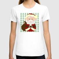 santa T-shirts featuring Santa by Alapapaju