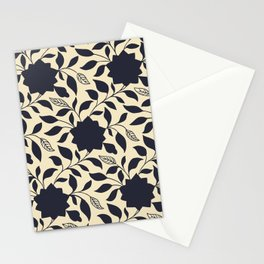 Chinese Neo-Retro Pattern X Stationery Cards
