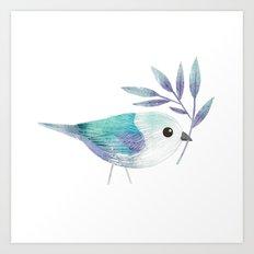 Blue Gray Tanager Art Print