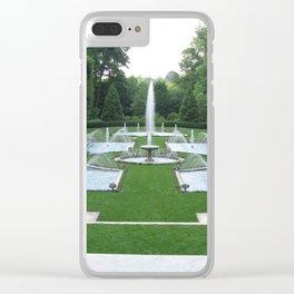 Water Garden Clear iPhone Case