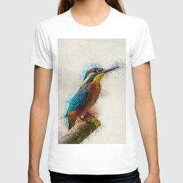 Kingfisher Art T-shirt