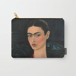 Frida Kahlo Self-portrait in velvet dress, 1926 Carry-All Pouch