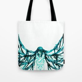 Caught in the spider's web Tote Bag