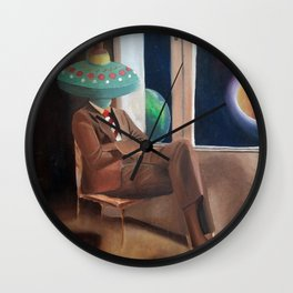 Rafael Tromposo Wall Clock