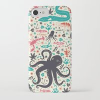 tea iPhone & iPod Cases featuring Sea Patrol by Anna Deegan