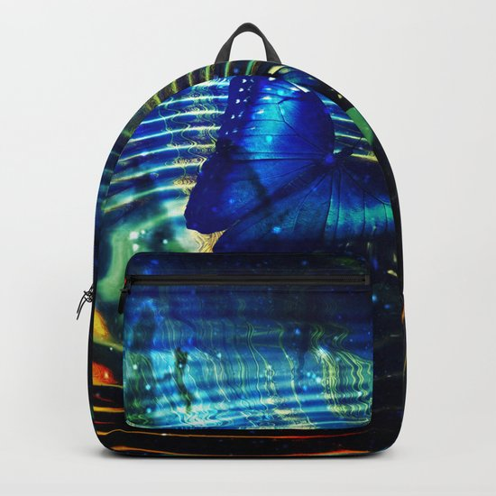 The Butterfly Effect in Blue Backpack