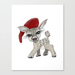 Little Rudolf Canvas Print
