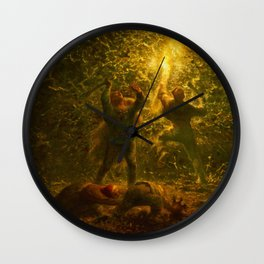 Jean-Francois Millet - Birds-nesters - Digital Remastered Edition Wall Clock