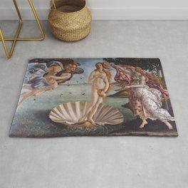 Sandro Botticelli The birth of Venus 1485 Artwork for Prints Posters Tshirts Men Women Kids Rug