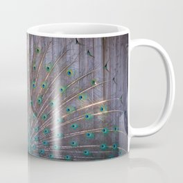 Suburban Peacock Coffee Mug