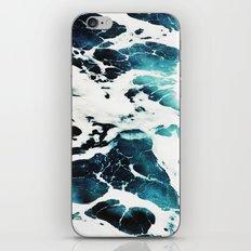 Dark Ocean Waves iPhone & iPod Skin