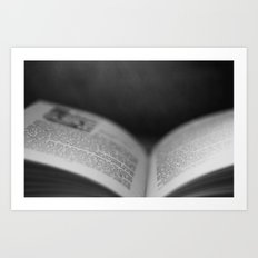 To Tell a Story Art Print