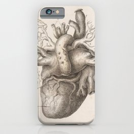 The Back Of The Heart iPhone Case