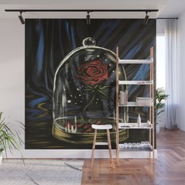 Enchanted Rose Wall Mural