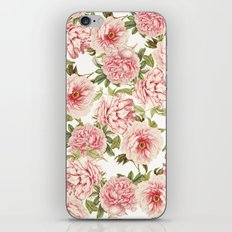 old fashioned peonies iPhone & iPod Skin