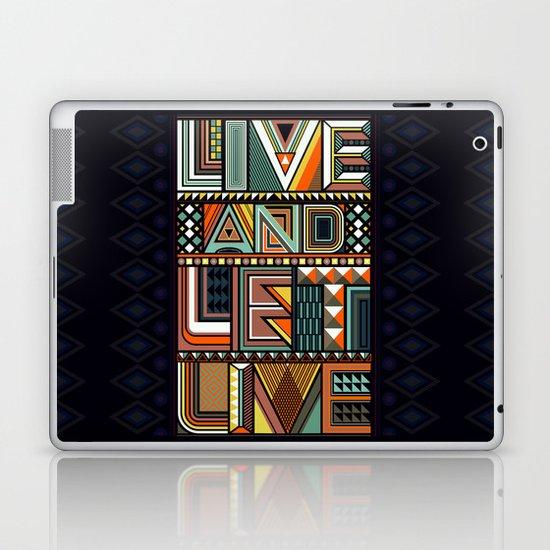 LIVE & LET LIVE Laptop & iPad Skin