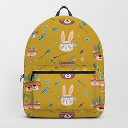 Woodland Yellow Backpack