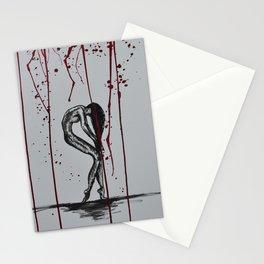Blood Shower Stationery Cards