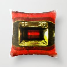 on off Throw Pillow
