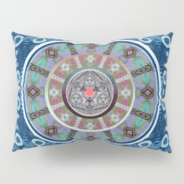 Immensity of Peace Meditation Print Pillow Sham