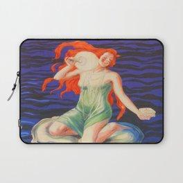 Poudre de Perles Fines Vintage Poster Laptop Sleeve