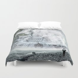 Observation and transformation Duvet Cover