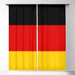 German flag of Germany Blackout Curtain