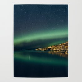 The northern Lights Poster