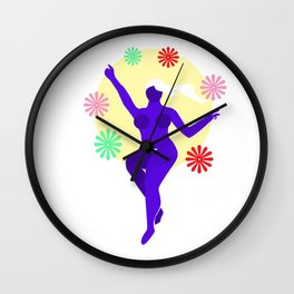 The Dancer Wall Clock